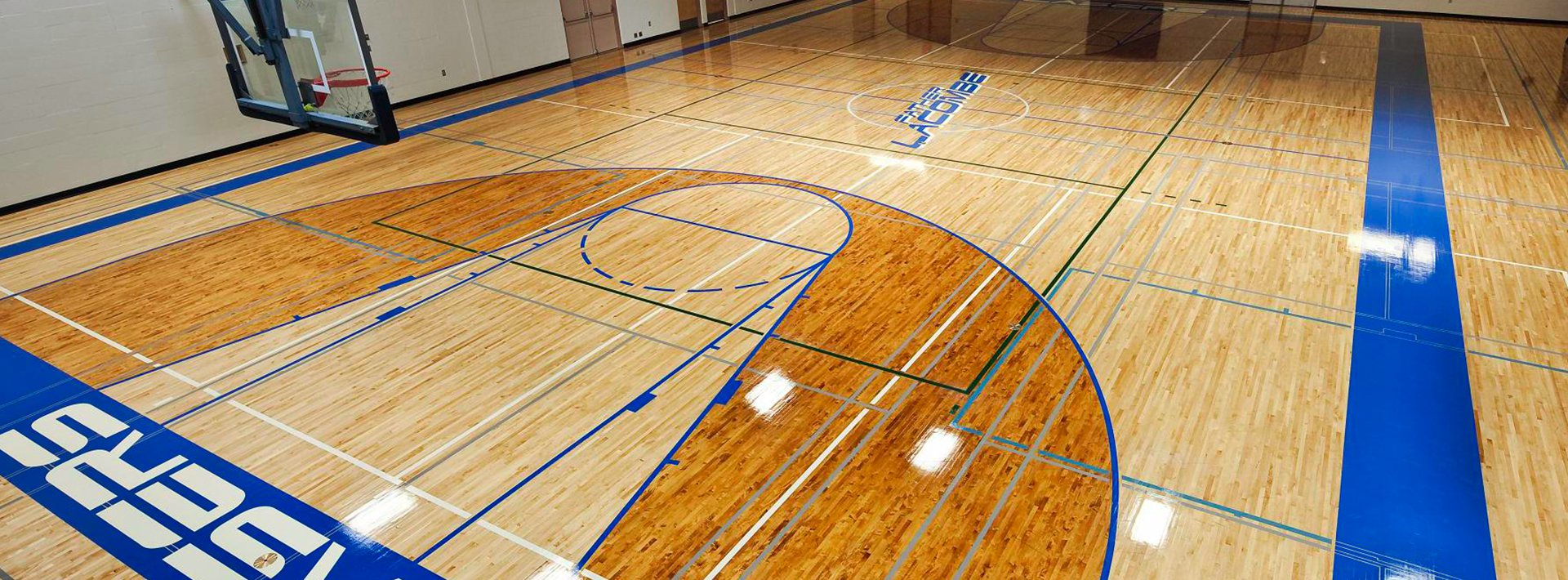 Rubber basketball court flooring Basketball court installation cost
