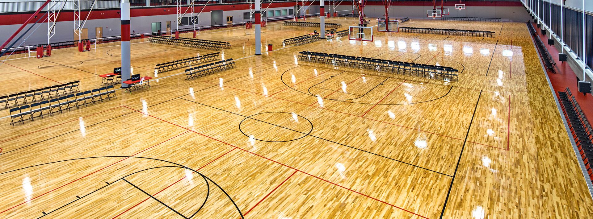 Play On Courts Wood Basketball Court Flooring Options