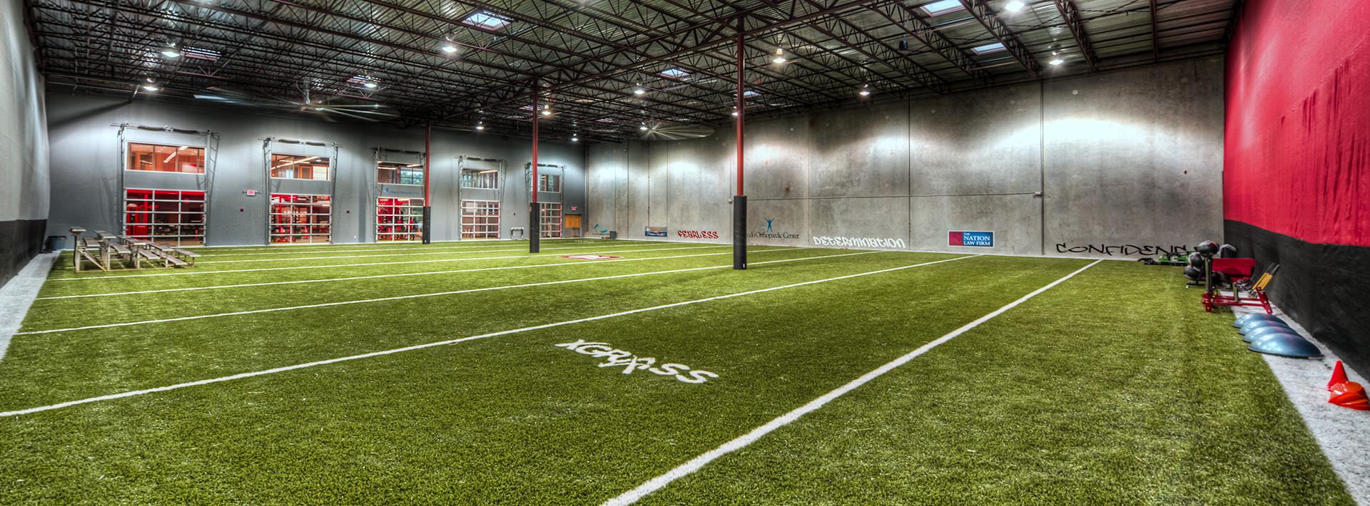 Sports training facilties for Athletic training facility design