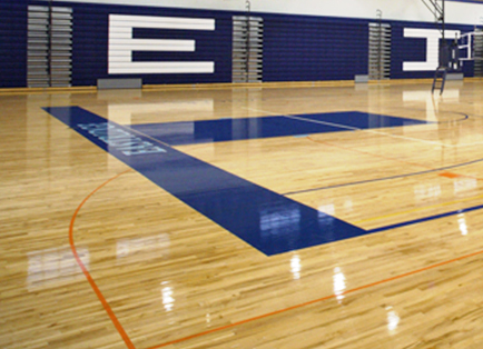 Hardwood Basketball Courts