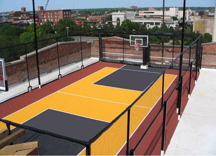 Basketball Court Tile